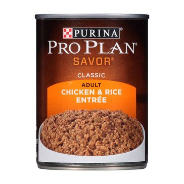 Purina Pro Plan Adult Chicken Rice 13 oz. Adult Wet Dog Food
