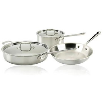 All-Clad Stainless Steel 5-Piece Starter Set