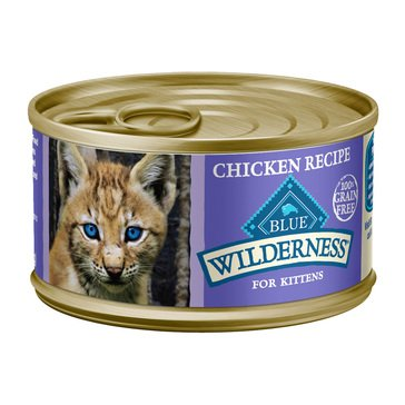 Blue Buffalo Wilderness Wet Cat Food Kitten, 3 oz.