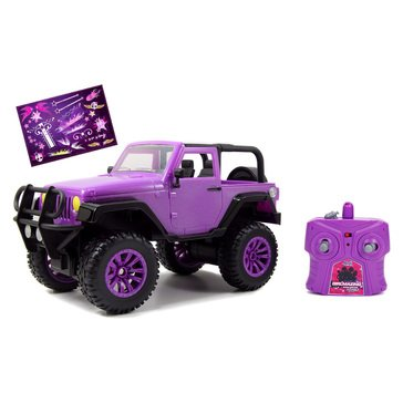 Girl Mazing Remote Controlled Jeep