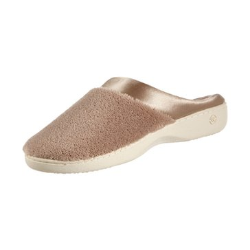 Isotoner Women's Slippers Microterry Pillowstep Clog Sliippers