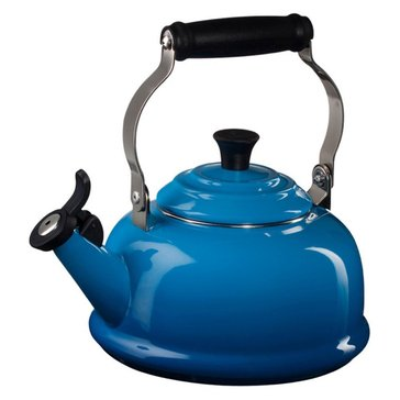 Le Creuset 1.8-Quart Whistling Kettle, Marseille Blue