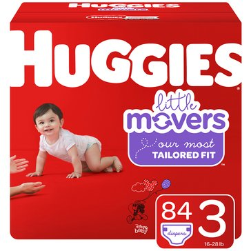 Huggies® Little Movers® 84-Pack Super Pack Diapers, Size 3