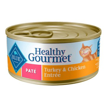 Blue Buffalo Pate Turkey & Chicken Adult 5.5 oz.Wet Cat Food