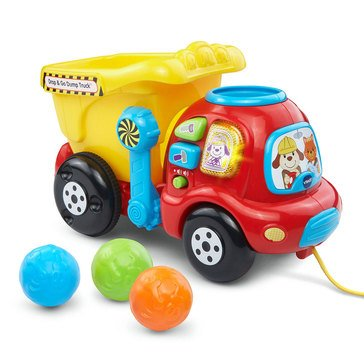 VTech Interactive Dump & Go Dump Truck Learning Numbers