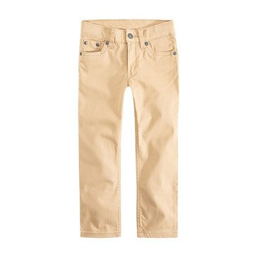 Levi's Big Boys' 511 Sueded Pants, Gold