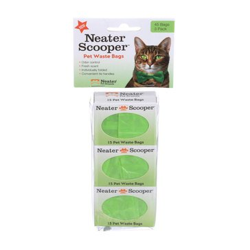 Neater Scooper Bags Cat Litter 3 Pack